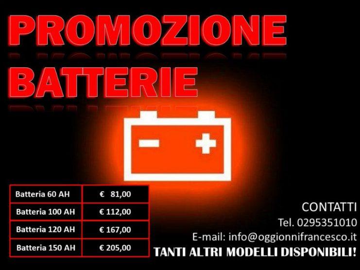 promozione batterie