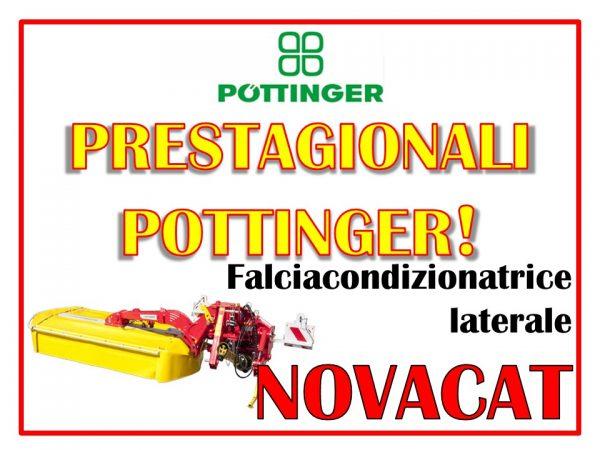 Falciacondizionatrice laterale Pottinger Novacat