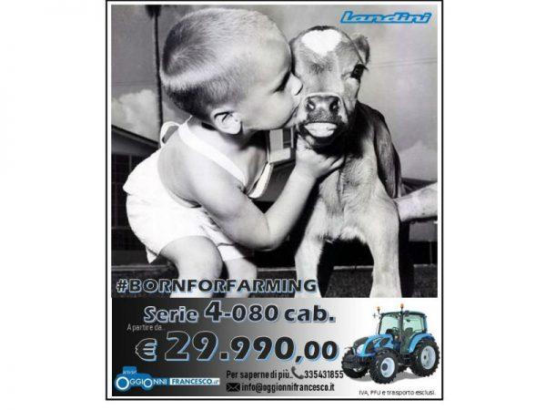 Landini 4-080 cab