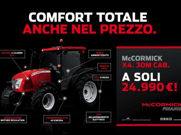 McCormick X4.30 M CAB